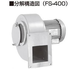 昭和電機 電動送風機 FS-200HT-R313