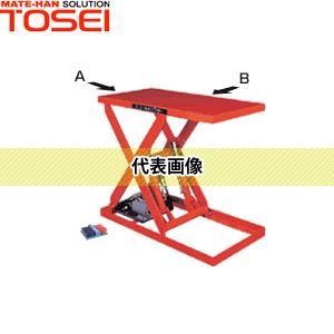 東正車輛 電動ゴールドリフター テーブル式リフト GLE-150-0608W パワータイプ(油圧) [個人宅配送不可][送料別途お見積り]