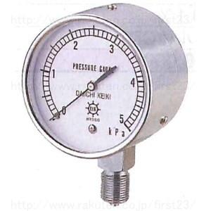第一計器製作所 微圧計 AT G3/8 100 圧力スパン5kPa メーカーコードABR134005