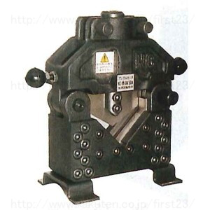 鋼材加工機械 西田製作所 油圧加工機 商品追加値下げ在庫復活 セール価格 マルチパワーツール用 品番NC-M-LW50A アングルカッタヘッド