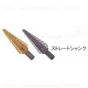 ロブテックス ステージドリル ストレートシャンクタイプ 段数7 シャンク径10(三面取り)品番LB618G