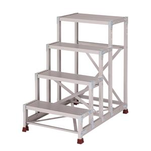 YAMAZEN(山善) 組立式 アルミ作業台 四段タイプ YPS-4-60100