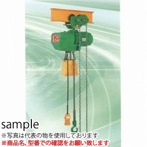 二葉製作所 電気チェーンブロックFHG-TS型FHG-TS1.5T 3M 2PBS