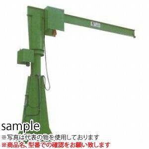 二葉製作所 手動式ジブクレーン(本体のみ)J36-1 1/2T 3M [送料別途お見積り]