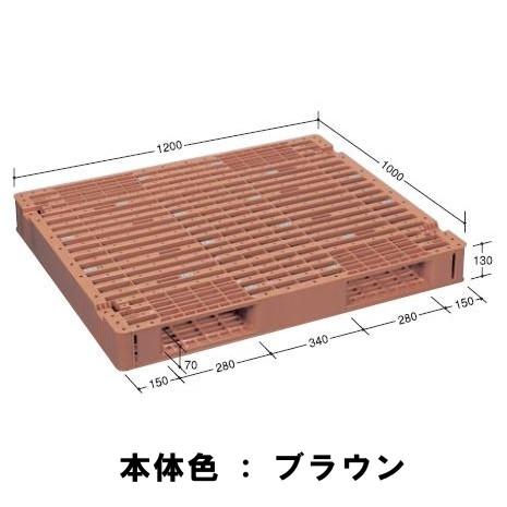 日本プラパレット パレット FS-1210S-2 ブルー
