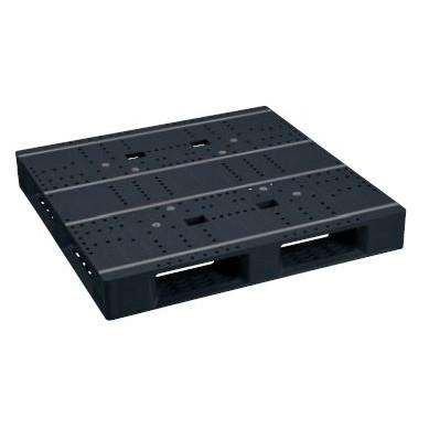 日本プラパレット パレット ZFD-1111E-RR ブラック [個人宅配送不可]