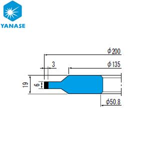 超美品 柳瀬(ヤナセ) CBNホイール ボス付ストレート型 砥材表示:CBN170-75B B-038 『1個価格』:セミプロDIY店ファースト-DIY・工具