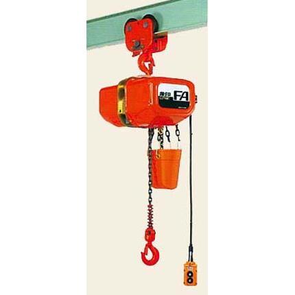【国内配送】 象印 三相200V ブレントロリ式電気チェーンブロック FB4PC-02860 2.8t×6M 4点押ボタン:セミプロDIY店ファースト-DIY・工具