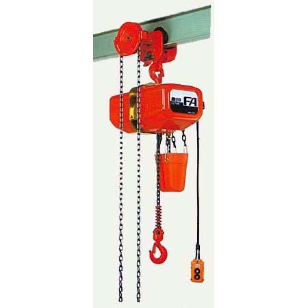 ラウンド  象印 三相200V ギヤードトロリ式電気チェーンブロック FB6GC-02860 2.8t×6M 4点押ボタン:セミプロDIY店ファースト-DIY・工具