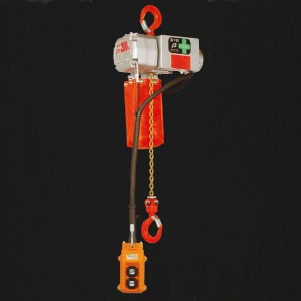 象印 超小型電気チェーンブロック 100V βS-012-10M BS-K12A0 125kg×10M