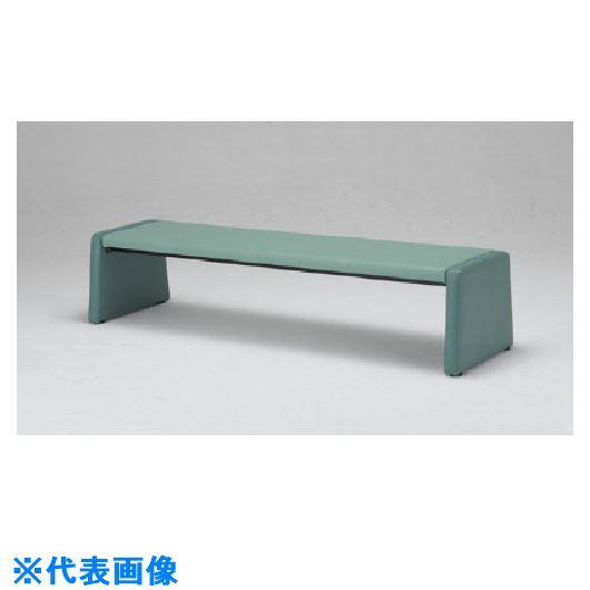 ■ミズノ 長椅子 緑 GN 〔品番:MWC-1728H〕[TR-1010941]【大型・重量物・個人宅配送不可】