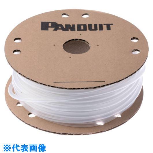 ■パンドウイット 熱収縮チューブ 標準長尺タイプ 透明 61M巻  〔品番:HSTT75-TC〕[TR-1018402]