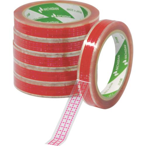 ■ニチバン サラダカップ固定用テープ 赤 SCR18 18MMX50M 100巻入 〔品番:SCR-18〕[TR-1020065×100]