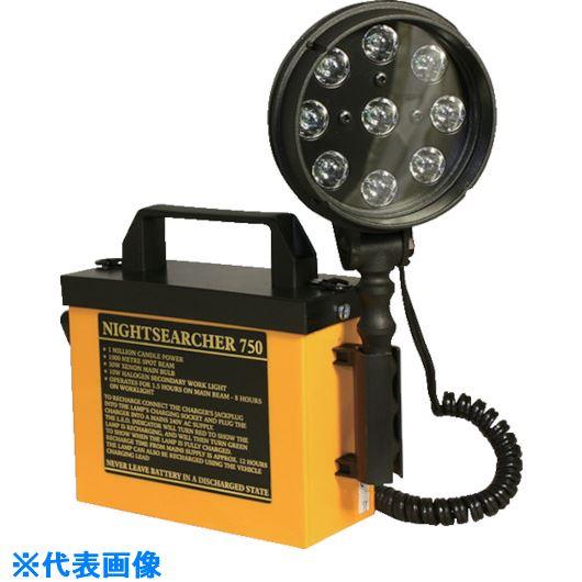 ■INOX東栄 Vライト バッテリー式サーチライト〔品番:BL-750〕[TR-1020431][送料別途見積り][法人・事業所限定][外直送元]