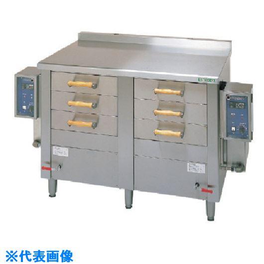 ■タニコー 電気引出型蒸し器〔品番:EM-6W〕[TR-1024074]【個人宅配送不可】