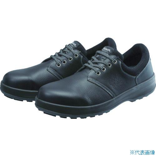 ■シモン 安全靴 短靴 WS11黒 22.0cm〔品番:WS11B-22.0〕[TR-1025802]