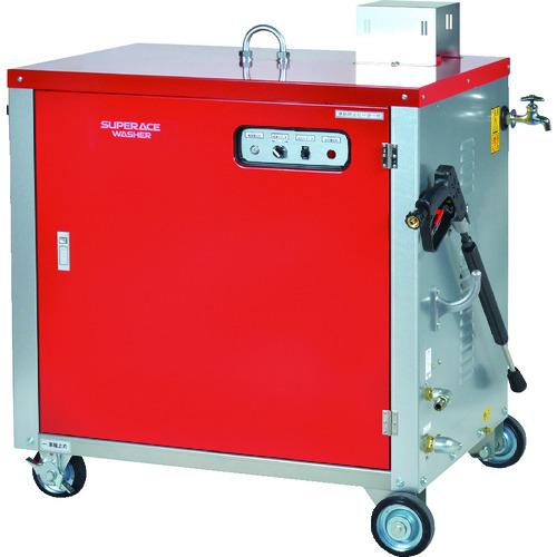 ■スーパー工業 モーター式高圧洗浄機SHJ-1408S-60HZ(温水タイプ)〔品番:SHJ-1408S-60HZ〕[TR-1026515]【個人宅配送不可】