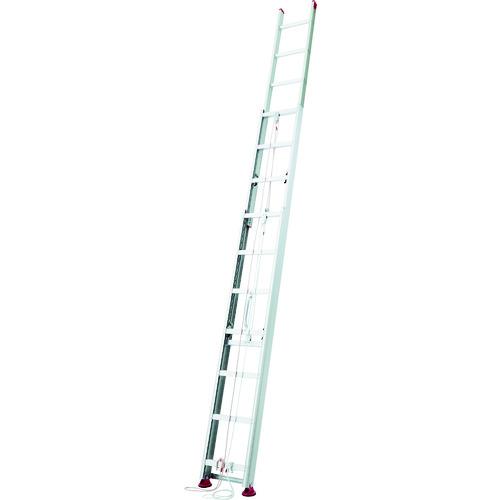 ■ハセガワ アルミ製サヤ管式3連はしご HD3型 6.79m〔品番:HD3〕[TR-1030117]【大型・個人宅配送不可】