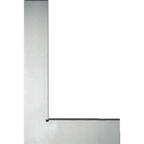 ■ユニ 焼入平型スコヤー(JIS1級) 150mm〔品番:ULDY-150〕[TR-1032381]