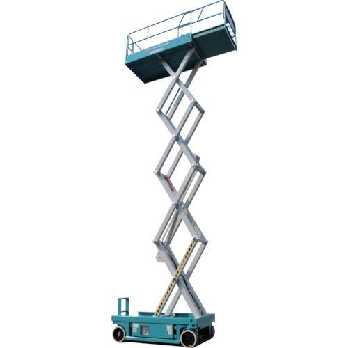 ■デンヨー シザースリンク型垂直昇降  〔品番:HW-790X〕[TR-1041192]【大型・重量物・個人宅配送不可】