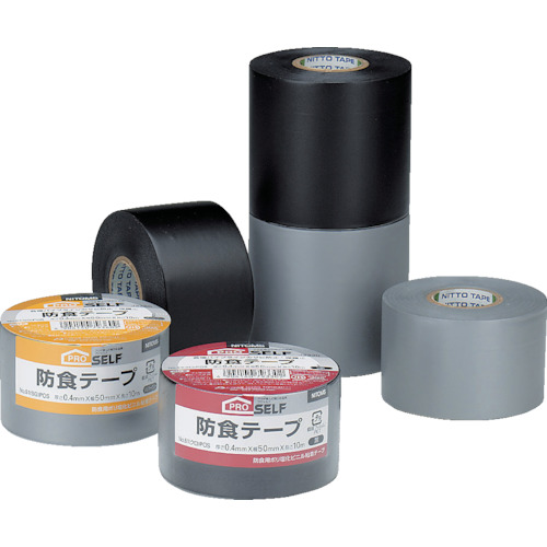 ■ニトムズ 防食テープ75黒 40個入 〔品番:J3340〕[TR-1041260×40]