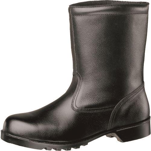 ■ミドリ安全 静電ゴム底安全靴 半長靴 V2400N静電 26.5CM  〔品番:V2400NS-26.5〕[TR-1057582]