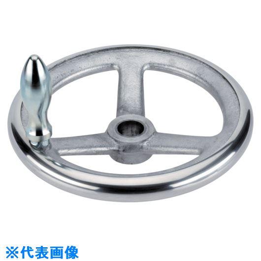 ■HALDER スポークハンドル DIN950 軽金属製 キー溝なし B-F G型  〔品番:24590.0440〕[TR-1058676]