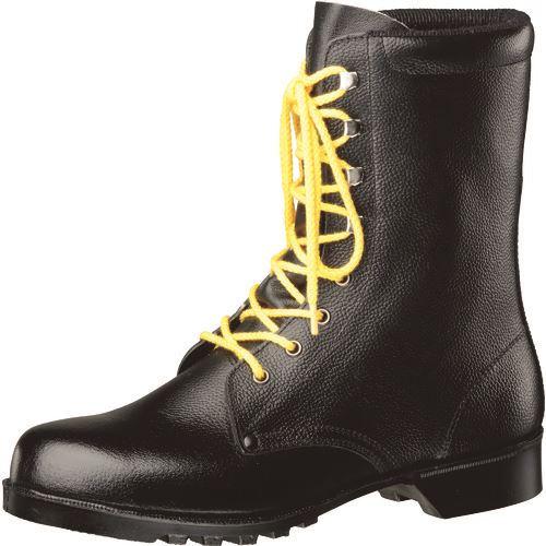 ■ミドリ安全 静電ゴム底長編上安全靴 V213N静電 24.0CM  〔品番:V213NS-24〕[TR-1059152]