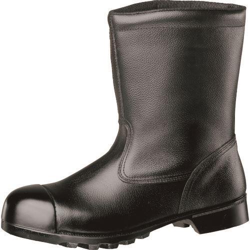 ■ミドリ安全 重作業用ゴム底安全靴 半長靴 W540NCAP 24.5CM  〔品番:W540NCAP-24.5〕掲外取寄[TR-1059251]