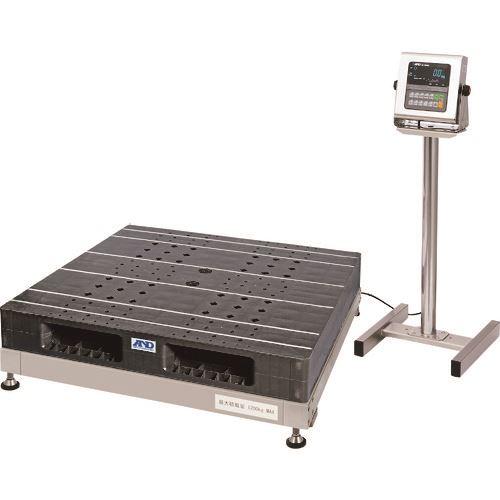 ■A&D 防塵・防水パレット一体型デジタル台はかり〔品番:SN1200KWP〕[TR-1062581]【重量物・個人宅配送不可】