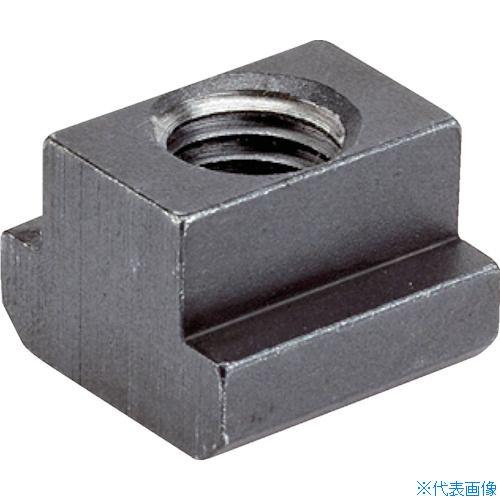 ■HALDER Tナット DIN 508 T溝幅42 強度クラス 10 黒染  穴外径M36  〔品番:23010.0422〕[TR-1064491]