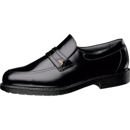 ■ミドリ安全 通気底紳士靴 MG1326ブラック静電 24.5CM  〔品番:MG1326S-24.5〕[TR-1067124]