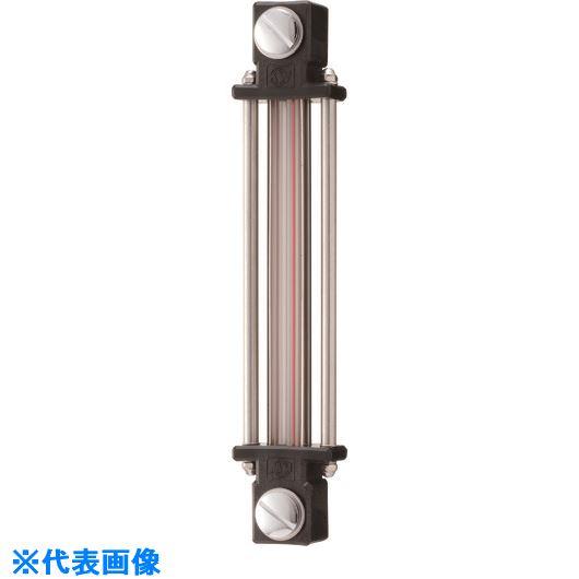 ■協和 耐熱・耐薬品用ガラスパイプ式オイルゲージ  〔品番:KLPD-120G-M10〕[TR-1067678]
