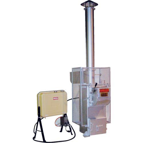 ■ワコウ アースクリーン焼却炉  〔品番:CI100-2GAT〕[TR-1070663]【大型・重量物・個人宅配送不可】