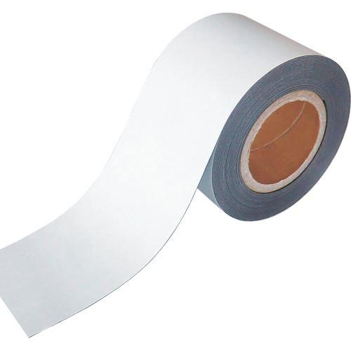 ■緑十字 マグネット粘着テープ 100MM幅×10M 厚み0.8MM  〔品番:312212〕掲外取寄[TR-1070920]