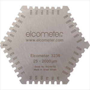 ■ELCOMETER 六角形ウェットフィルム膜厚計  〔品番:K0003236M202〕外直送[TR-1071220]