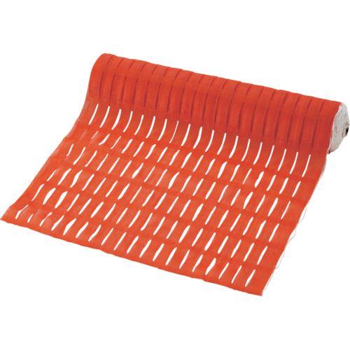 ■緑十字 バリアフェンス オレンジ 1000MM幅×50M 重量5KG HDPE  〔品番:355022〕[TR-1072542]【大型・重量物・個人宅配送不可】【送料別途見積もり】