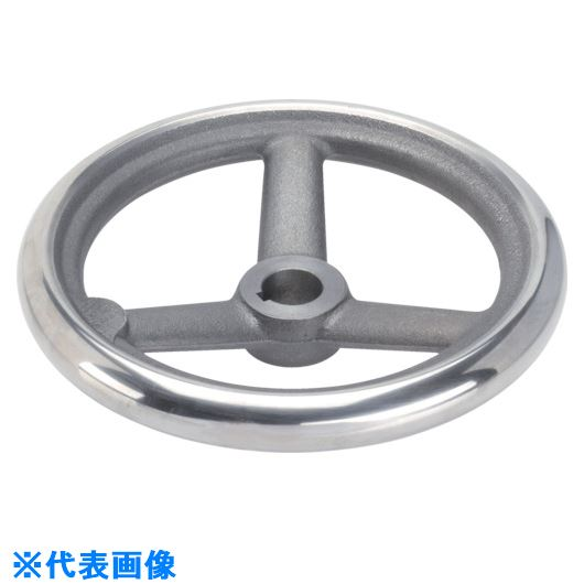 ■HALDER スポークハンドル DIN950 鋳鉄製 キー溝付 N-F A型  〔品番:24580.0145〕[TR-1072944]