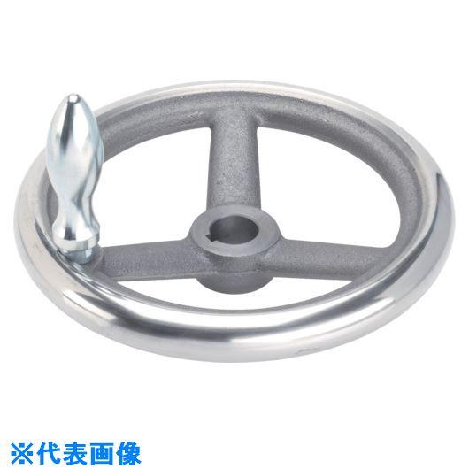 ■HALDER スポークハンドル DIN950 鋳鉄製 キー溝付 N-F G型  〔品番:24580.0306〕[TR-1072984]