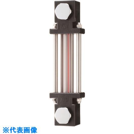 ■協和 耐熱・耐薬品用ガラスパイプ式オイルゲージ  〔品番:KLPD-200G-M16〕[TR-1075583]