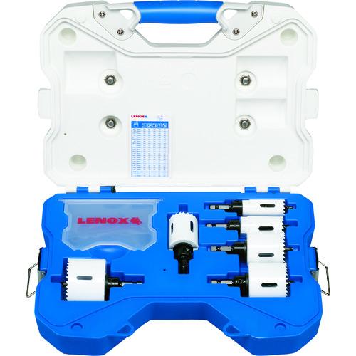 ■LENOX スピードスロット軸付ホールソーセット 電気設備工事用 600AE〔品番:34081600AE〕[TR-1077648]