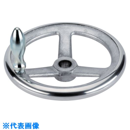 ■HALDER スポークハンドル DIN950 軽金属製 キー溝なし B-F G型  〔品番:24590.0250〕[TR-1078158]