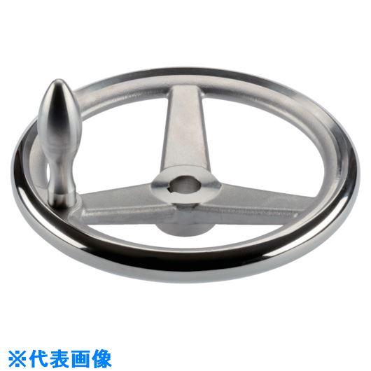■HALDER スポークハンドル ステンレス鋼 キー溝付 N-F G型〔品番:24591.0515〕[TR-1078799]