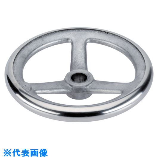 ■HALDER スポークハンドル DIN950 軽金属製 キー溝 B-F A型  〔品番:24590.0050〕[TR-1079294]