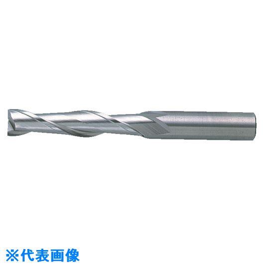 ■三菱K 2枚刃汎用エンドミルロング25.0MM〔品番:2LSD2500〕[TR-1079875]