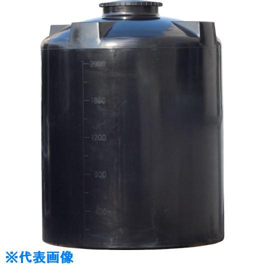 ■スイコー UL型タンク密閉丸型タンク4000L  〔品番:UL-4000〕[TR-1083115]【大型・重量物・個人宅配送不可】