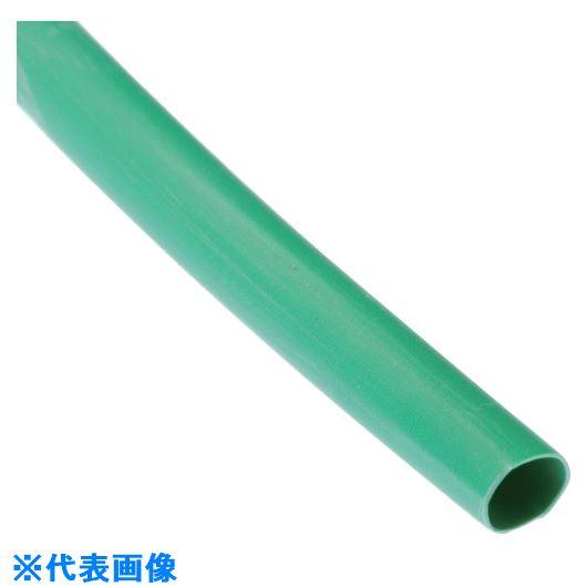 ■パンドウイット 熱収縮チューブ 標準長尺タイプ 緑 HSTT75-T5 61M巻  〔品番:HSTT75-T5〕[TR-1083127]