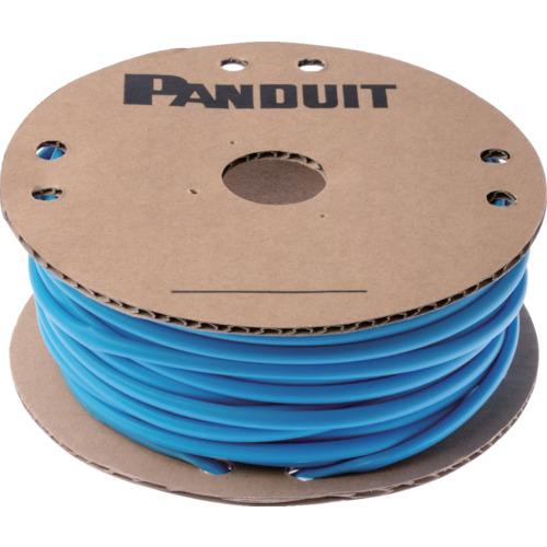 ■パンドウイット 熱収縮チューブ 標準長尺タイプ 青 30.5M巻  〔品番:HSTT50-C6〕[TR-1083182]