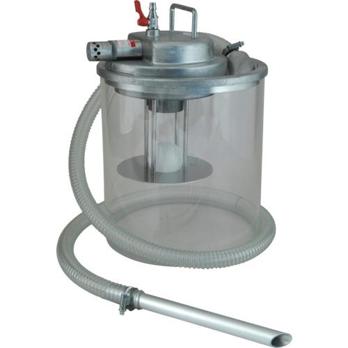 ■アクアシステム 高真空液体専用エア式掃除機 (オープンペール缶用)〔品番:APPQO-H〕[TR-1083377]