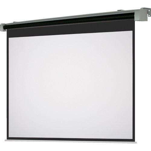 ?OS 80型 電動巻上式スクリーン ワイド・ボックス収納タイプ 〔品番:SET-080WM-TR1-WG103〕外直送[TR-1084949]【大型・重量物・送料別途お見積り】